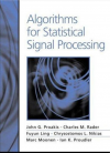Algorithms for Statistical Signal Processing
