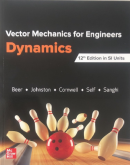 Vector Mechanics for Engineers: Dynamics 12/E(SI)